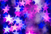 Pink and blue stars — Stock Photo