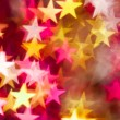 Stock Photo: Red and yellow stars