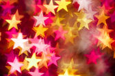 Red and yellow stars — Stock Photo