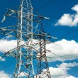 Stock Photo: High voltage electric line