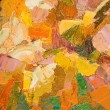 Abstract colorful background oil painting on canvas. — Stock Photo