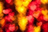 Fondo de vacaciones de forma de corazón rojo — Foto de Stock