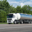 Oil car on road — Stockfoto #49486085