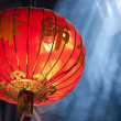 Chinese lantern in temple — Stock Photo