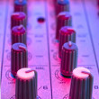 Stockfoto: Audio mixer detail