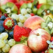 Fresh fruit assortment — Stock Photo