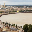 Stock Photo: Bordeaux dockside