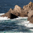 Stock Photo: Rocky coastline