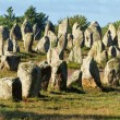 Carnac monoliths - Stock Photo