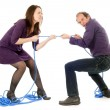 Fighting couple — Stock Photo #13372926