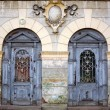 Two ancient doors — Stockfoto