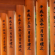 Stock Photo: Japanese sacred writings