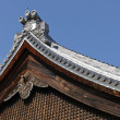 Stock Photo: Japanese temple roof