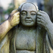 Royalty-Free Stock Photo: Japanese monk statue