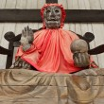 Pindola god statue — Stock Photo