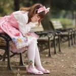 Sad japanese girl — Stock Photo #13375331