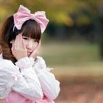 Japanese girl fashion — Stock Photo #13375425