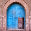 Old arabian door - Stock Photo