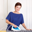 Woman ironing — Stock Photo #13376465