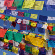 Stock Photo: Tibetan prayer flags