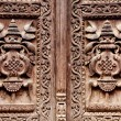 Wooden carved door detail — Stock Photo #13379201