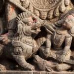 Hindu sculpture detail — Stock Photo #13379382