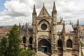 Bordeaux Saint Michel cathedral — Stock Photo