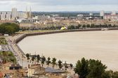 Bordeaux dockside — Stock Photo