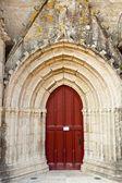 Rode kerk deur — Stockfoto