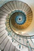 Beautiful lighthouse staircase — Stock Photo