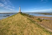 Way to the lighthouse — Stock Photo