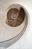 Stein leuchtturm treppe — Stockfoto
