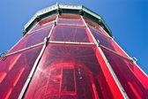 Lighthouse red top — Stock Photo