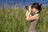 Watching wildlife — Stock Photo