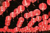 Chinesische rote laternen — Stockfoto