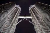 Petronas towers detail — Stock Photo