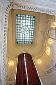 Parliament palace luxurious stairway — Stock Photo