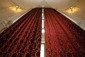 High luxurious curtains — Stock Photo