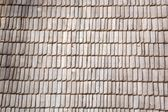 Wooden roof background — Stockfoto