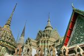 Wat pho temple — Stock Photo
