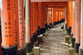 Fushimi inari torii — Stock Photo
