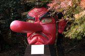 Tengu statua — Zdjęcie stockowe