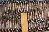 Fish in japanese market — Stock Photo