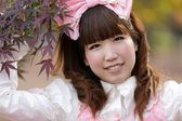 Japanese cosplay girl — Stock Photo