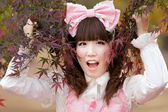 Japanese lolita fashion — Stock Photo