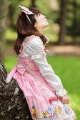 Japanese cosplay woman — Stock Photo