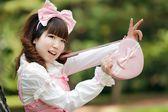 Japanese fashion girl — Stock Photo