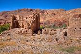 Kasbah ruins in Morocco — Stock Photo