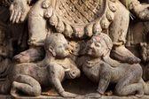 Hinduistische skulptur-detail — Stockfoto