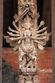Wielu zbrojnych bogini — Zdjęcie stockowe